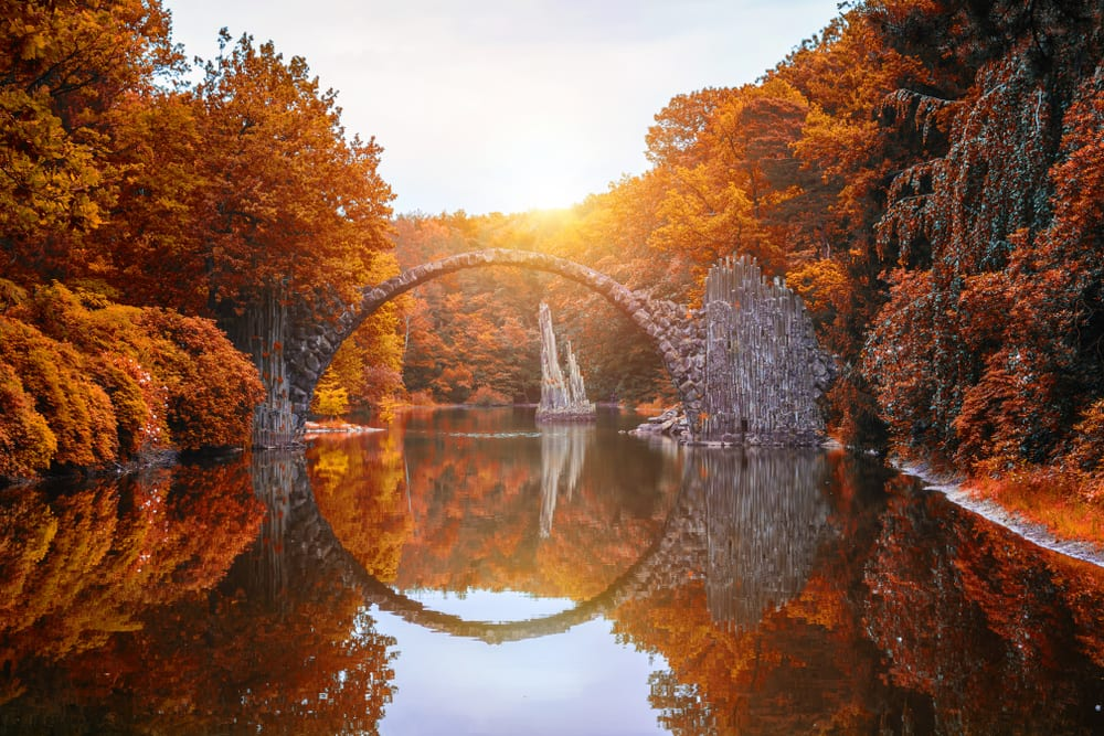 Magical Fairytale Destinations - Rakotzbrücke Germany