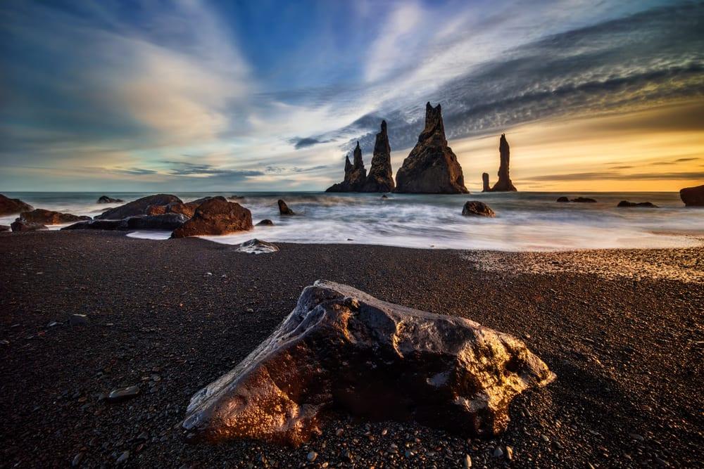 Beaches With Black Sand - Reynisfjara
