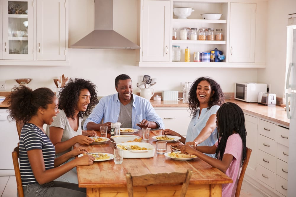 Tips for Better Family Time - Share a Meal Together