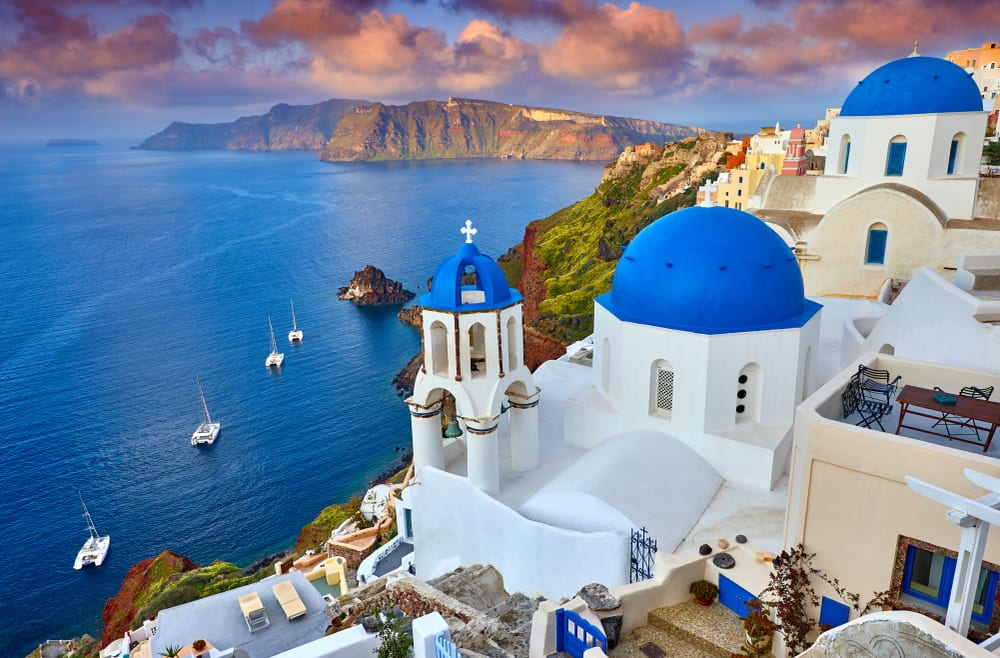 Magical Fairytale Destinations - Santorini Greece