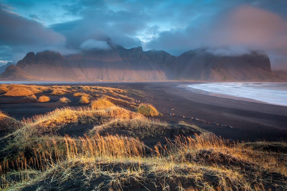 Beaches With Black Sand - Stokksnes Beach