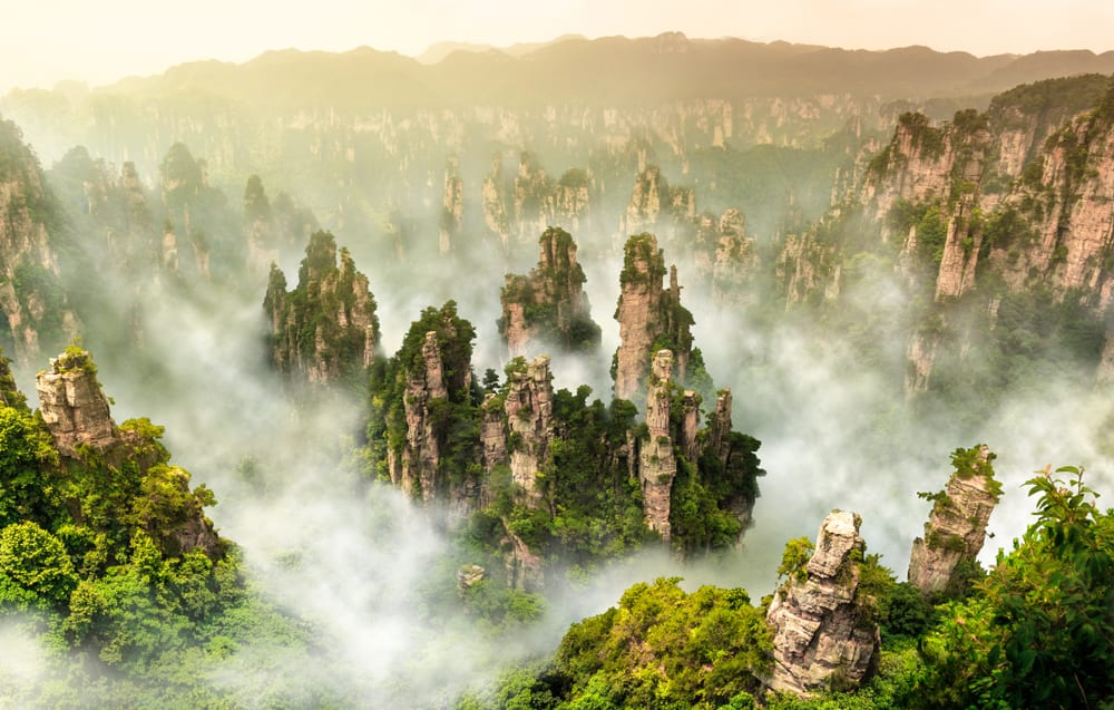 Magical Fairytale Destinations - Zhangjiajie China
