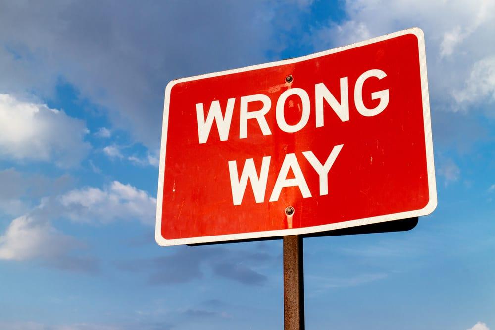 Google Maps Errors - Wrong Turns