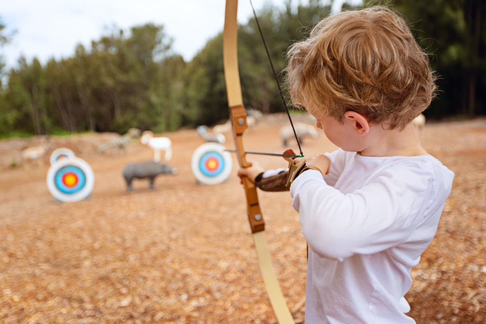 Most Unusual Kids Sports - archery