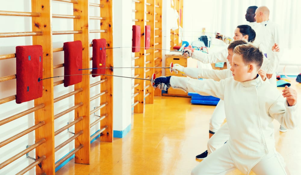 Most Unusual Kids Sports - Fencing