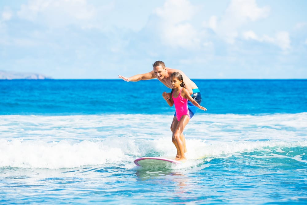 Most Unusual Kids Sports - Surfing