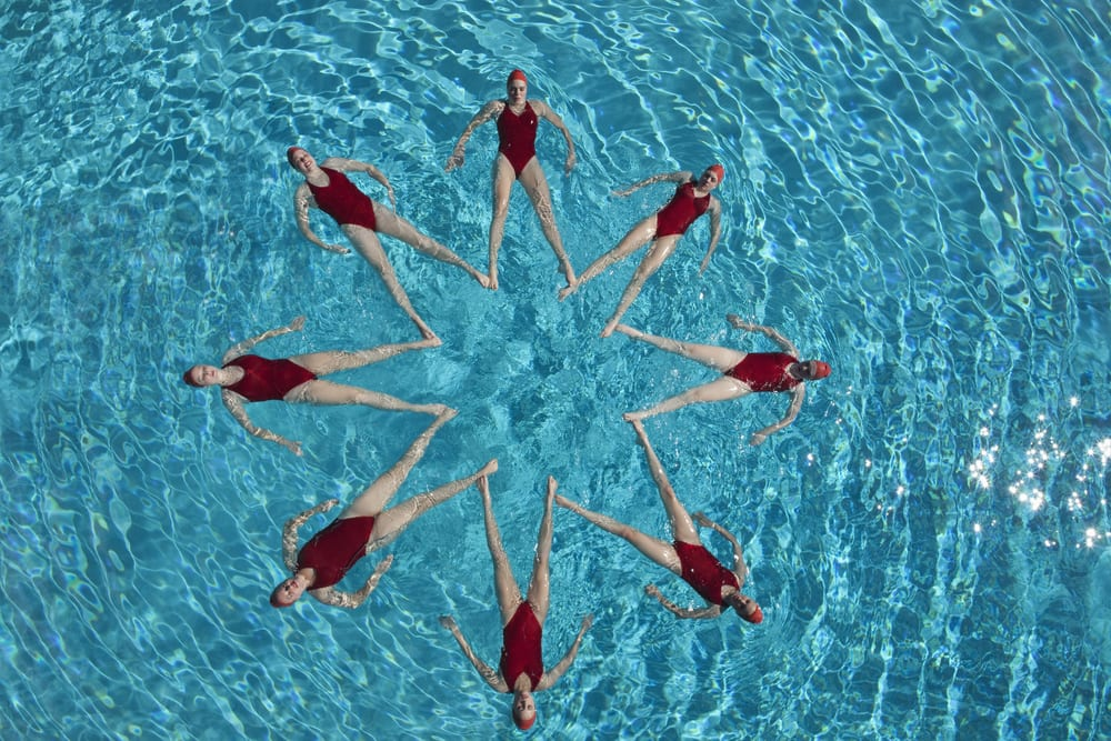 Most Unusual Kids Sports - synchronized swimming