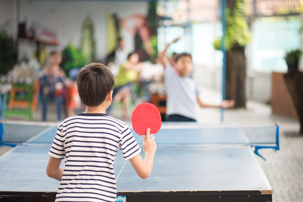 Most Unusual Kids Sports - Table Tennis