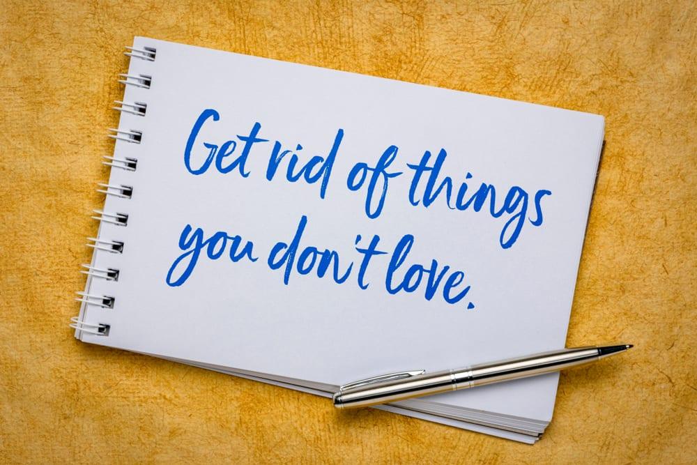 Start Your Decluttering Journey - Start within