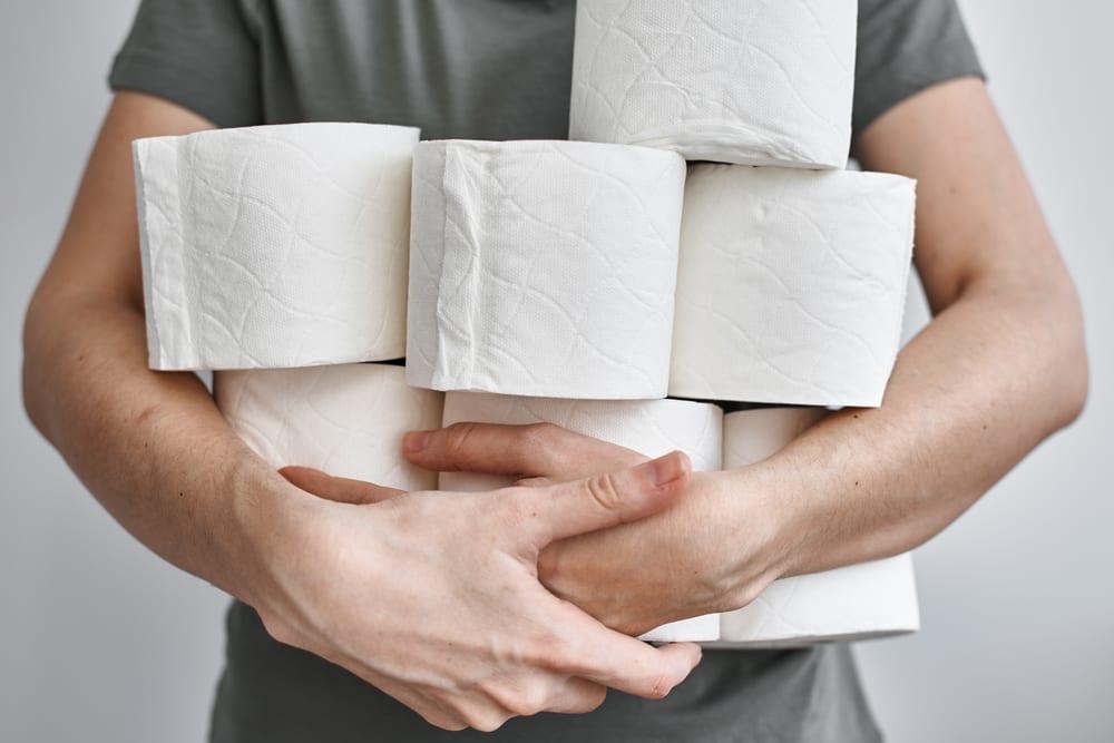 Toilet paper has come a long way