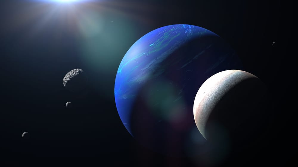 Triton is Neptunes largest moon