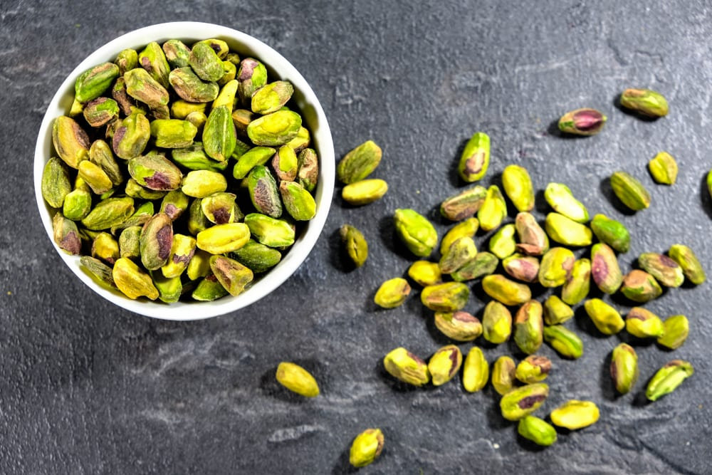Healthiest Nuts - Pistachioss