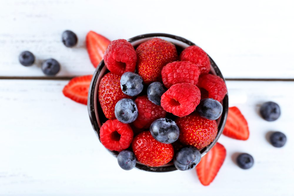 Late-Night Nutritious and Healthy Snacks - Cup of Berries