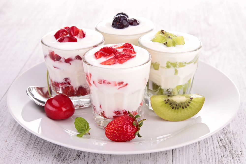 Late-Night Nutritious and Healthy Snacks - Fruit and Yogurt